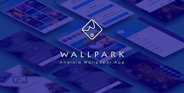 Download Wallpark - An android HD Wallpaper app with admin panel