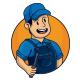 Repairman Mascot Logo Template - GraphicRiver Item for Sale