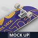 Skateboard Mockup - GraphicRiver Item for Sale