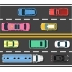 Car Road Topview Vector Illustration - GraphicRiver Item for Sale