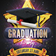 Graduation Party Flyer - GraphicRiver Item for Sale