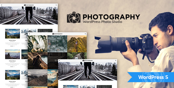 MT Photography - Eye-catching, Unique Photography WordPress Theme