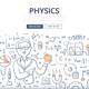 Physics Doodle Concept - GraphicRiver Item for Sale
