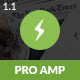 AMP Pro Mobile | Mobile Google AMP Template - ThemeForest Item for Sale