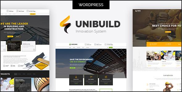 Unibuild | Technology Companies and Business WordPress Theme - Business Corporate