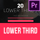 Modern Business Lower Third - VideoHive Item for Sale