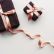 Black gift box on white background. - PhotoDune Item for Sale