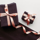 Black gift box on white background. - PhotoDune Item for Sale