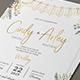 String Lights Invitation Set - GraphicRiver Item for Sale