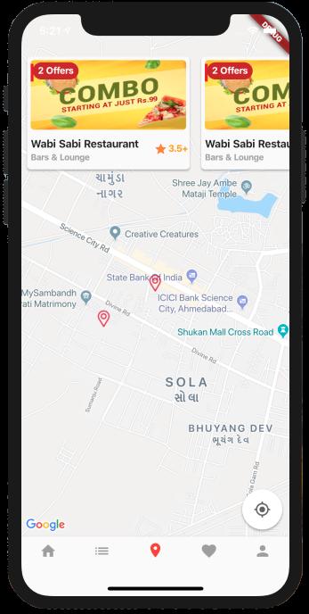 'LocoBar' Multistore IOS App Templates in Flutter