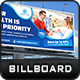 Pharmacy Medical Care Billboard - GraphicRiver Item for Sale