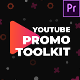 Modern Youtube Promo Toolkit - Essential Graphics | Mogrt - VideoHive Item for Sale