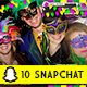 10 Mardi Gras Snapchat Set - GraphicRiver Item for Sale