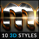 10 3D Styles vol. 16 - GraphicRiver Item for Sale