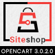 Siteshop 3.0.X Opencart MultiPurpose Responsive Theme - ThemeForest Item for Sale