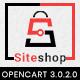 Siteshop 3.0.X Opencart MultiPurpose Responsive Theme