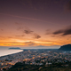 Terracina, Italy. Top View Skyline Cityscape City In Evening Sun - PhotoDune Item for Sale