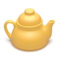 Small yellow teapot - PhotoDune Item for Sale