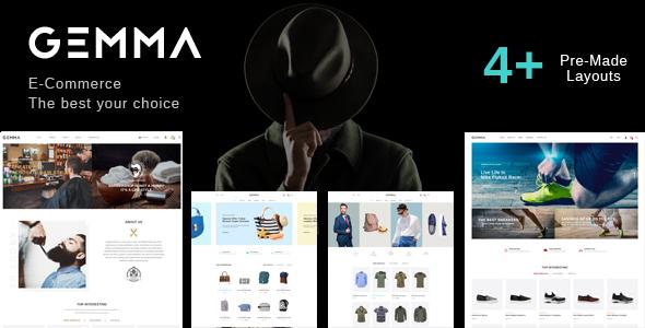 Gemma - Fashion Barber Shop HTML Template