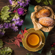 Cup of tea with madeleines - PhotoDune Item for Sale