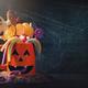 Pumpkin mug with sweets - PhotoDune Item for Sale