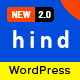 Hind - Multi-Concept Portfolio WordPress Theme - ThemeForest Item for Sale