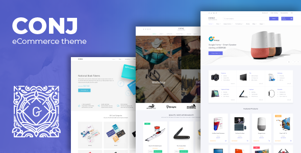 Conj - eCommerce WordPress Theme - WooCommerce eCommerce
