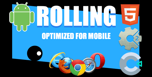 Free Download] Rolling HTML5 Game (CAPX , 3cp Construct 3 Source Code)