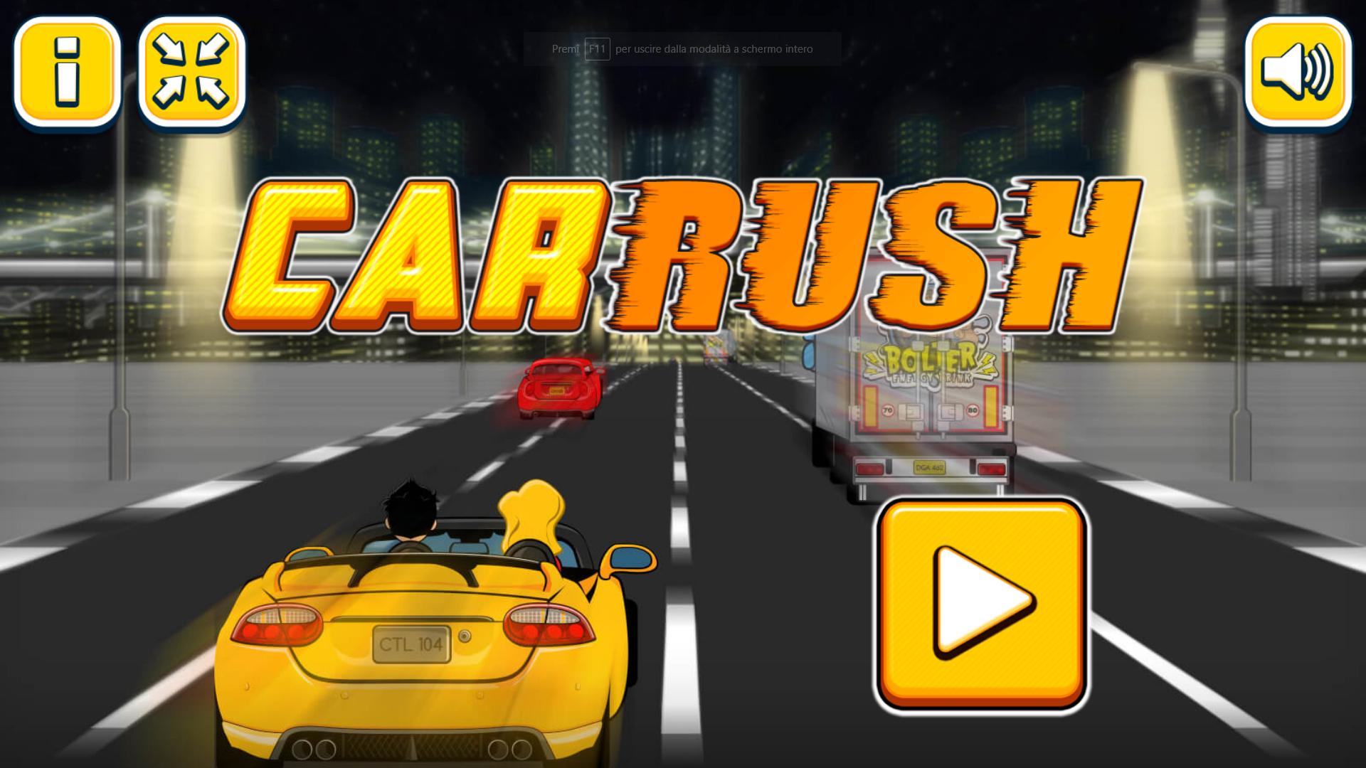 Car Rush - HTML5 Racing Game