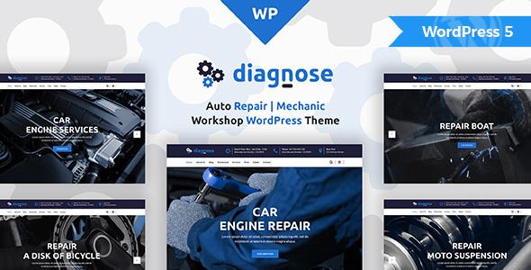 Diagnose - Auto Repair | Mechanic | Workshop WordPress Theme by modeltheme