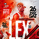 Hip-Hop Artist Flyer - GraphicRiver Item for Sale