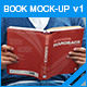 Book Mock-up v1 - GraphicRiver Item for Sale