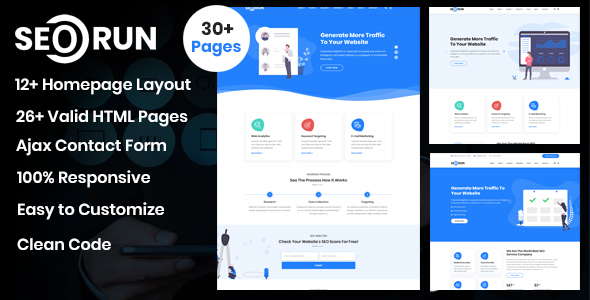 Seorun - SEO & Digital Marketing Agency Template