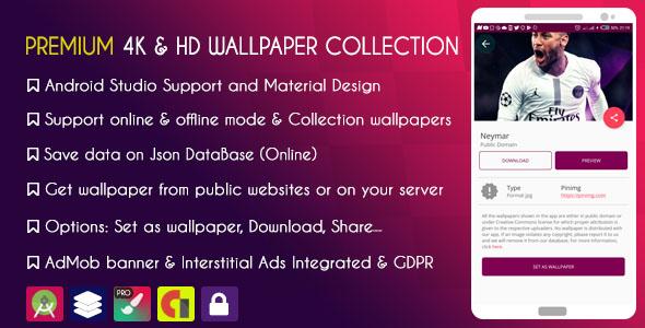 Premium 4k Hd Wallpapers Collection Admob Gdpr By Kingdov