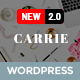 Carrie - Personal & Magazine WordPress Responsive Clean Blog Theme - ThemeForest Item for Sale
