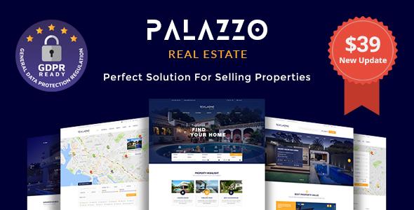 Palazzo - Real Estate WordPress Theme - Real Estate WordPress
