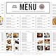 Simple Menu Board - GraphicRiver Item for Sale