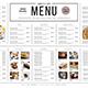 Simple Menu Board - GraphicRiver Item for Sale