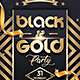 Black and Gold Party - GraphicRiver Item for Sale