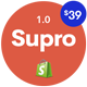 Supro -  Minimalist Responsive Shopify Theme - ThemeForest Item for Sale
