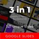 3 in 1 Multipurpose Google Slides Template Bundle (Vol.08) - GraphicRiver Item for Sale