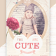 You Are Cute Flyer Template - GraphicRiver Item for Sale