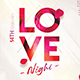 Love Night Party Poster - GraphicRiver Item for Sale