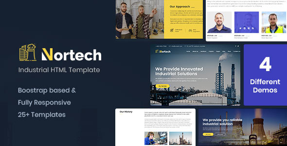 Special Nortech - A Industry and Engineering HTML Template