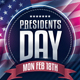 Presidents Day Flyer - GraphicRiver Item for Sale