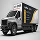 Delivery Cargo Truck Mock-Up - VideoHive Item for Sale