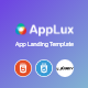 Applux - App Landing Template - ThemeForest Item for Sale