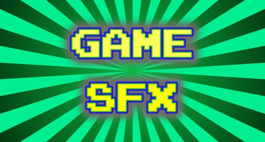 Game FX - Blips, Blops, Apps, Notifications, etc