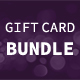 Party Gift Card Bundle - GraphicRiver Item for Sale