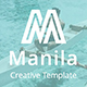 Manila Creative Keynote Template - GraphicRiver Item for Sale